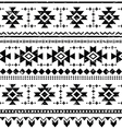 Tribal aztec retro seamless pattern vector image vector image