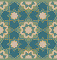 turquoise abstract mosaic vector image vector image