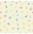 A seamless pattern of cats dogs prints vector image