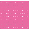 Background little hearts vector image vector image