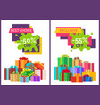 best choice half price off vector image vector image