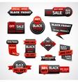 Black Friday Discounts Set vector image vector image