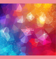 colorful abstract background abstract polygonal vector image