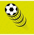 football soccer design vector image