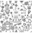 girlish seamless pattern