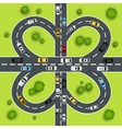 Highway traffic vector image vector image