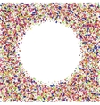 modern festive confetti abstract background vector image vector image