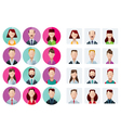 Profile icons office people