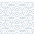 seamless linear pattern in blue color vector image vector image