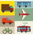 Transport and vehicles vector image