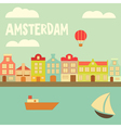 amsterdam vector image