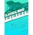 Classical Music Concept vector image