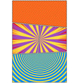comic colorful light vertical composition vector image vector image