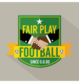 Fair Play Badge Label vector image vector image