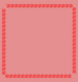 frame red 4 1101 vector image vector image