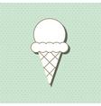 ice cream icon design vector image vector image