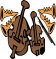 Jazz Instruments vector image vector image