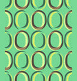 trendy retro seamless pattern vector image