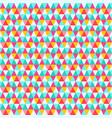 triangle seamless pattern abstract retro backdrop vector image vector image