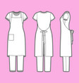 womens clothing set vector image