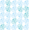 cabbage pattern vector image vector image