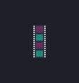 Film strip computer symbol vector image vector image