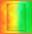 hologram bright colorful background vector image vector image