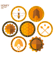 Honey Set vector image vector image