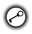Key button vector image vector image