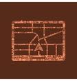 navigator icon vector image