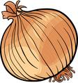onion vegetable cartoon vector image vector image