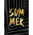 Summer Poster Design vector image vector image