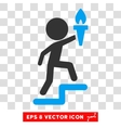 Child Leader Eps Icon vector image vector image