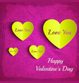 colorful greeting poster vector image vector image