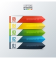 element for infographic vector image vector image