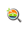 fresh home searching vector image vector image