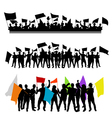 Fun group with flags vector | Price: 1 Credit (USD $1)