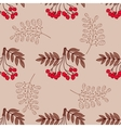Red Berries Seamless Pattern vector image vector image