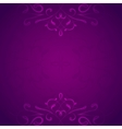Retro styled violet background vector image vector image