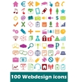 Simple webdesign icon set