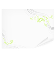 spring paper vector image vector image