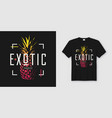 stylish t-shirt and apparel modern design with vector image vector image