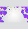 abstract background with shining colorful vector image vector image