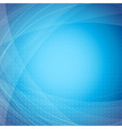 Blue modern abstract wave background vector image vector image