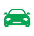 car outline icon vector image vector image