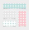 Cute patterns and seamless backgrounds Ideal for vector image vector image