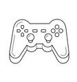 Gamepad line icon