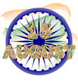 Independence Day of India Concept with vector image