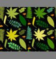 Leaves and plants seamless pattern for your