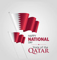 qatar national day december 18 vector image vector image